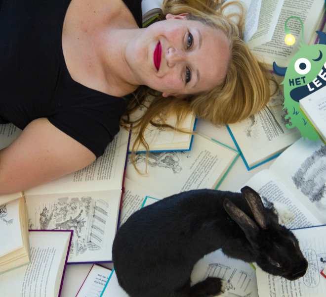 Yasmin, MSc kinderpsycholoog en oprichtster van Het Leesbeest